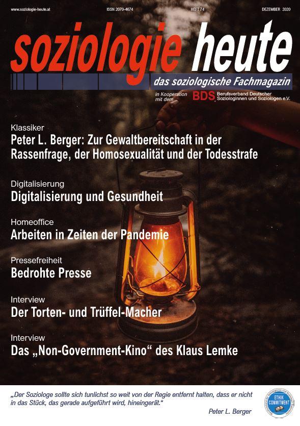 Zeitschrift Soziologie heute